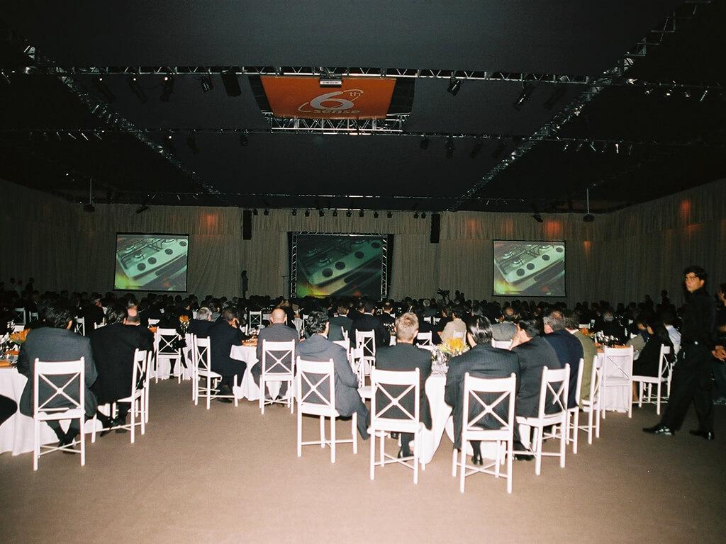 Lançamento Linha 6 Sense - 2006