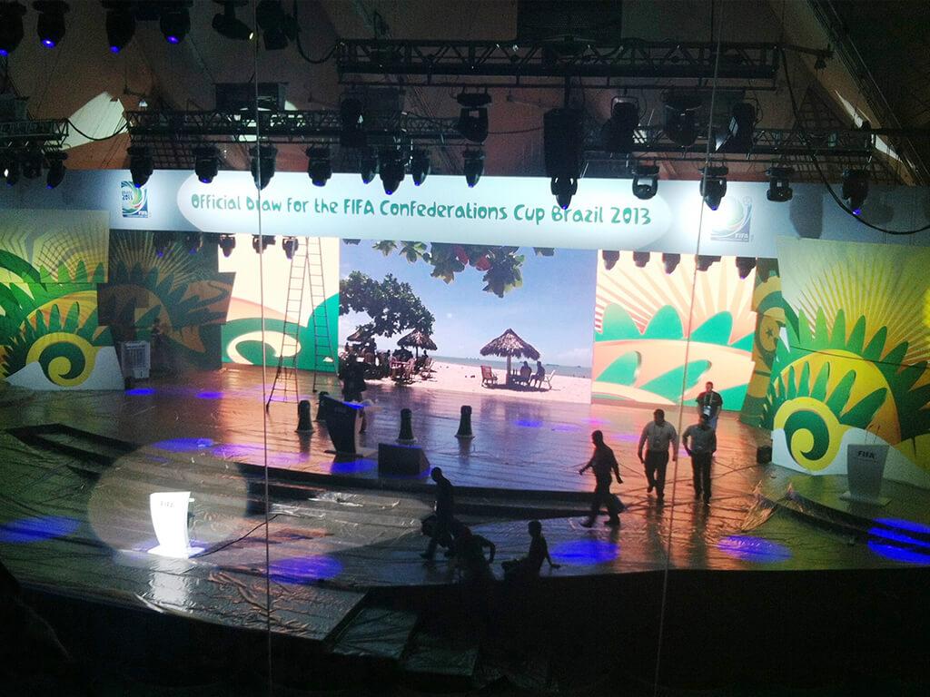 Sorteio da Copa das Confederações - 2013